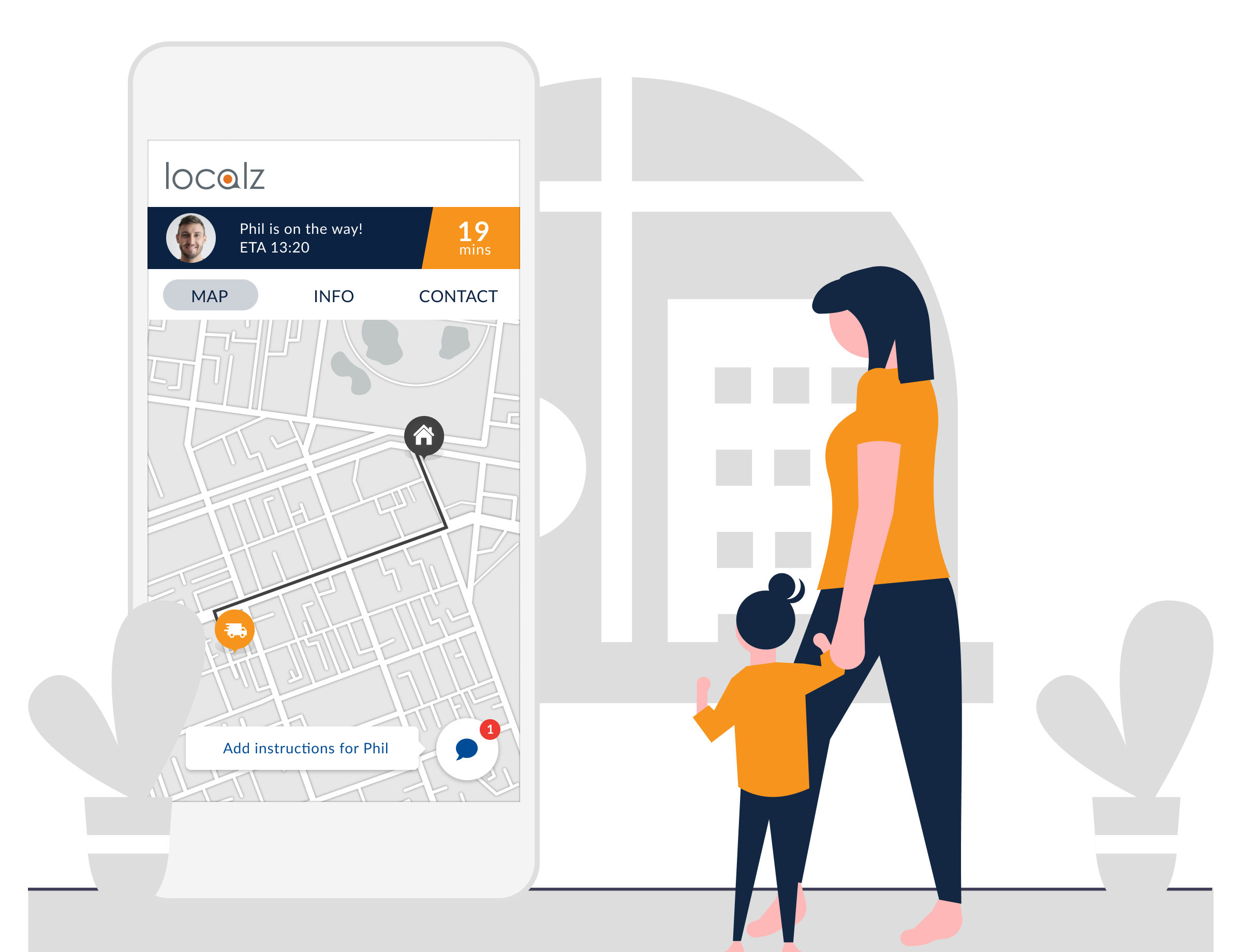 Manage My Appointments web-based customer portal