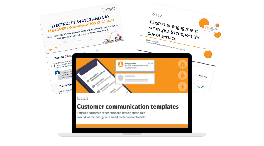 Utility customer communication bundle