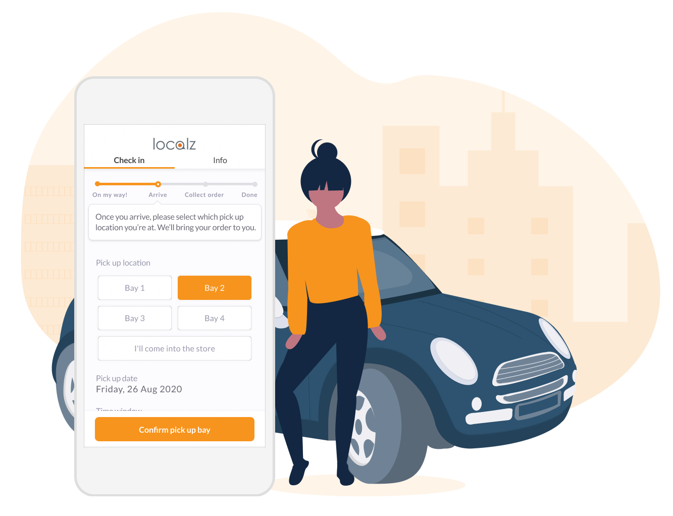 Collect My Goods click and collect customer portal