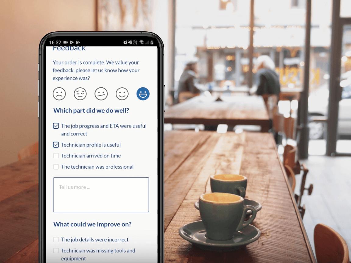 feedback form demo