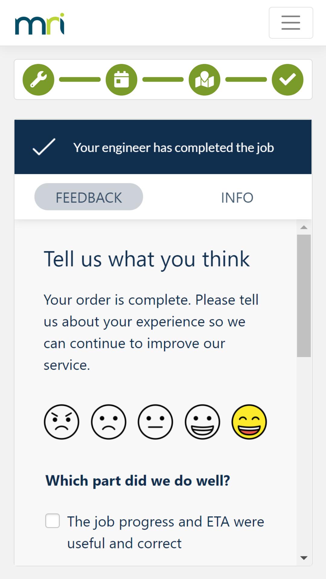5.1 - Job Complete Feedback Survey (1) (1)