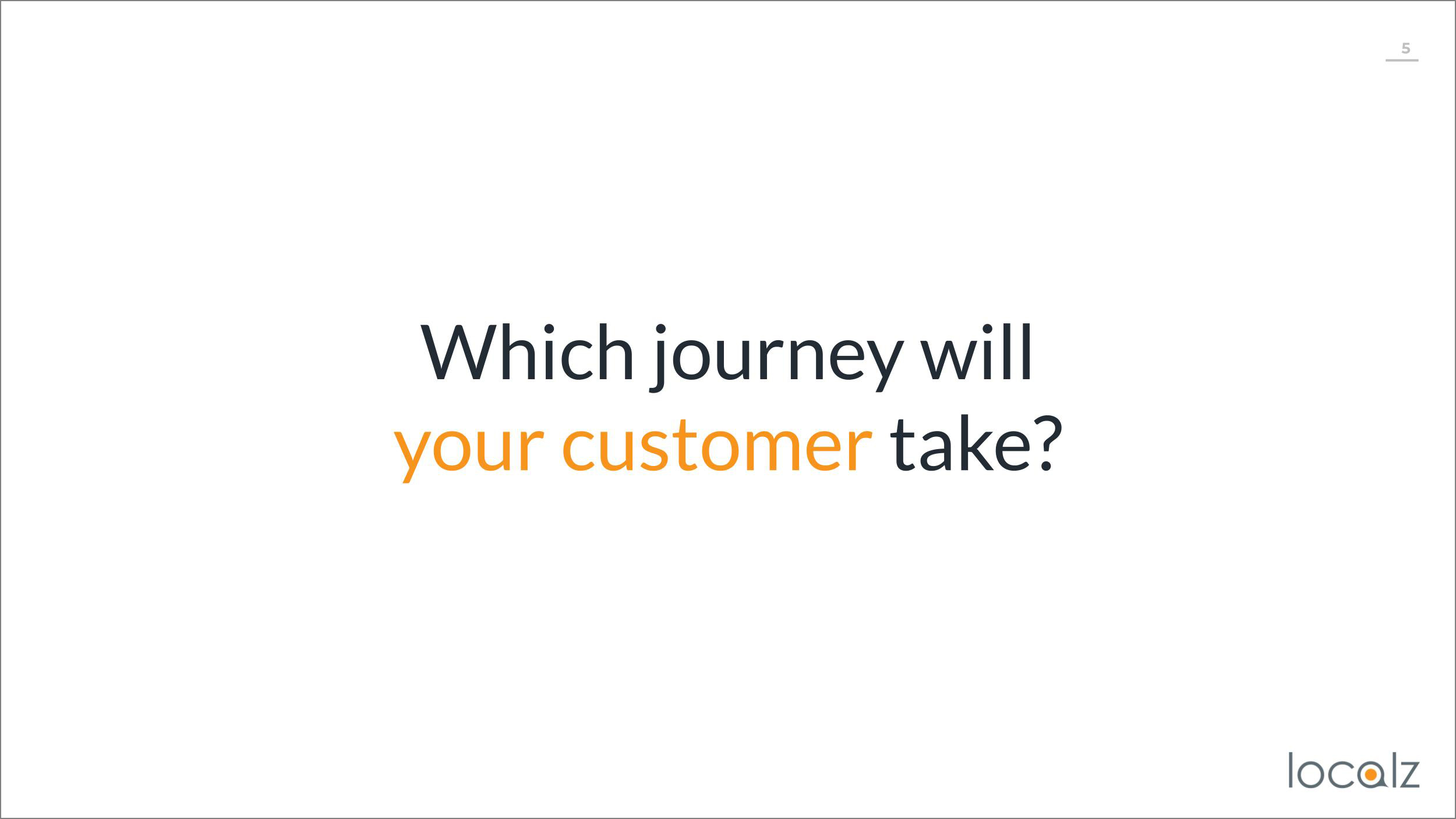 Customer journey in the last mile of field service