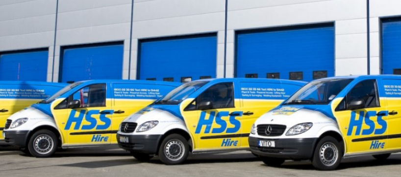 HSS Hire Localz real-time tracking customer communications solutions